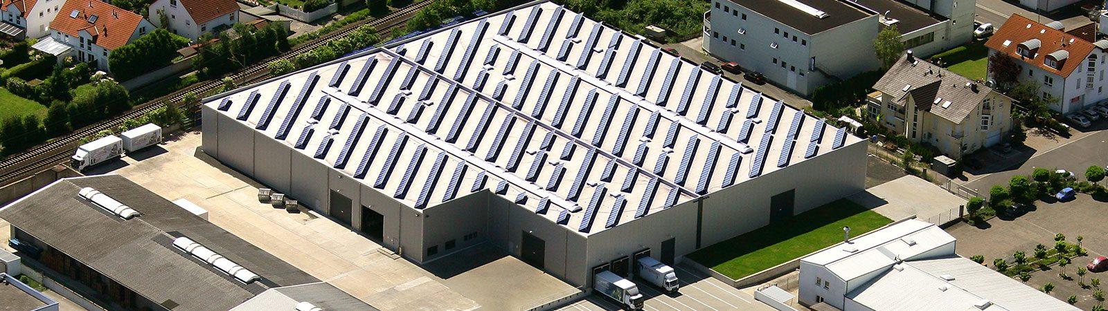 Solaranlage Reifen Center Wolf